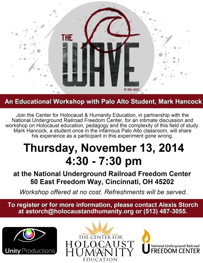 The Wave Workshop Flyer